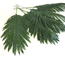 Pack of 12 Artificial Palm Leaves Tropical Foliage Home Garden Party