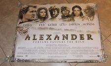 ALEXANDER movie poster ANGELINA JOLIE poster, COLIN FARRELL poster, OLIVER STONE