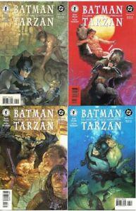 Batman Tarzan Claws of the Cat-Woman 4 issue mini series DC/Dark Horse (1999) NM