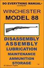 Jem Enterprises Winchester Model 88 Do Everything Manual 67 Pages MINT