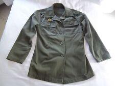 Iraqi Saddam-era FEMALE Ba'ath Militia (Popular Army) Military Jacket; 80s Iraq