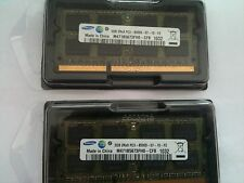 USATO 4GB RAM PC3-8500 DDR3-1066 KIT (2x2GB) 204pin 1066Mhz SODIMM Portatile Memory
