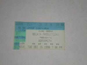 Aerosmith Seven Mary Three Ticket Stub-1998-Nine Lives Tour-Gund Arena-OH