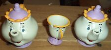 Disney two Mrs. Potts and one Chip cup Beauty and the Beast