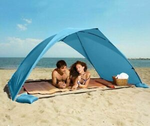 Portable Sun Shelter Beach Tent Summer Outdoor Garden Sun Awning Shade Camping