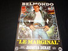belmondo LE MARGINAL ! affiche cinema