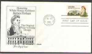 US. 1936. 20c. James Hoban, White House Architect. Artmaster FDC. 1981