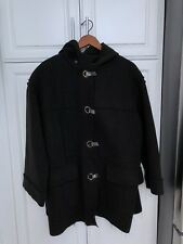 Authentic LANVIN  Brown Women's Woolen Coat, Made In Italy