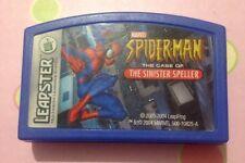 Marvel Spider-Man: el caso de los siniestros Speller Leapfrog Leapster Juego Carro