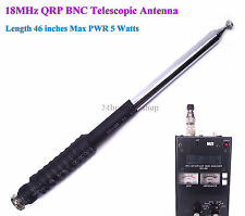 18MHz Ham Amateur Radio 17 Meter Band HF BNC QRP Telescopic Antenna
