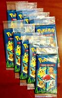 10 Pokemon Trading Card Game 3 Card Booster Pack 2019 General Mills Promo Sealed