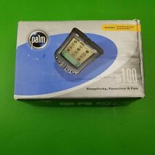Palm m100 Handheld Pda with Cover, Box, Manual, Sync Cable , and Paperwork