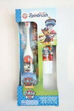 Paw Patrol Spinbrush Arm & Hammer Toothbrush & Toothpaste Set