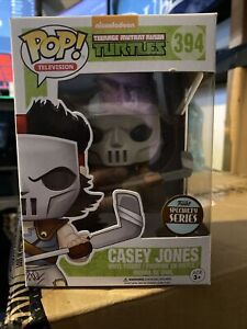 Teenage Mutant Ninja Turtles Casey Jones #394 Exclusive Funko Pop! Vinyl Figure