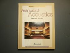 Architectural Acoustics Design Guide by James Cowan Hardback