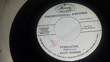KRIPP JOHNSON One Last Time / Everlasting MERCURY 71436 PROMO DOO WOP 45 7""
