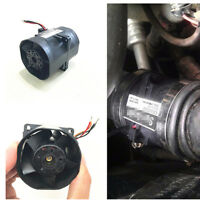Car Supercharger Electric Turbine Turbo Dual Fan Air Intake Boost 2.7A Fuel Save
