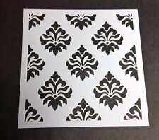 Baroque Barock Stencil 5x5 Card Making Scrapbooking Airbrush Painting Home Decor