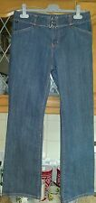 DKNY LADIES JEANS  SIZE 30 W 32 L  JEAN BUCKLE BELT ATTATCHED IN GOOD CONDITION.