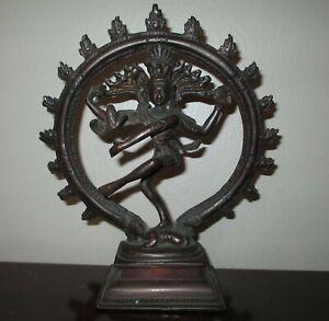 SHIVA Antique Bronze Nataraja Lord of the Dance