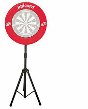 UNICORN DARTMATE TRI-STAND TRIPOD CADDY DARTBOARD DARTS ACCESSORY