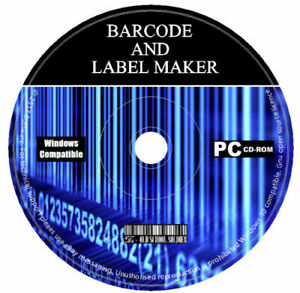 Barcode label Address Maker Creator Create Printing Design Software Program PC