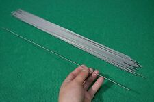 "2mm Dia Titanium 6al-4v round bar .078"" x 20"" Ti Gr.5 Welding grade 5 rod 50pcs"