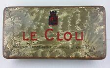 "Alte Blechdose Zigarettendose YENIDZE Dresden ""LE CLOU"" ca. 1920s Vintage"