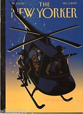 The New Yorker Magazine Violent Night December 3, 2007 Subscription Issue