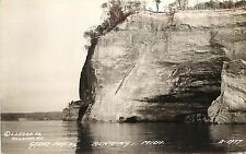 Vintage 1930's Real Photo PC Grand Portal, Munising MI LL Cook Co B-1957