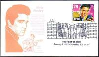 Elvis Presley #2721 First Day Cover Gamm Cachet Memphis TX Music Cancel (Lot 328