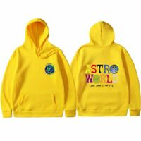 ASTROWORLD 'look mom i can fly' Travis Scott Men's Hoodie Pullover Rplca Sweater