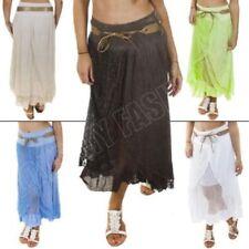 Faldas de mujer largas 100% algodón