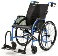 Strongback Mobility 24 Lightweight Compact Fold Wheelchair with Brakes 16/18/20""