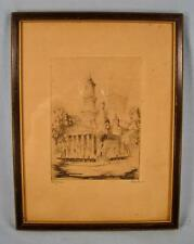 Saint Julius Church Or Cathedral Art Print Drawing Picture M Pence Pierce (O2)