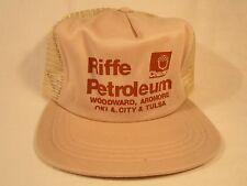 VINTAGE HAT Mens Cap RIFFE PETROLEUM Woodward, Oklahoma [Y39B3]
