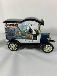 1/25 1912 Ford Model T Delivery Car Remington Country Collector Bank by Gearbox