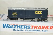 HO scale Walthers CSX Transportation 40' track cleaning cleaner box car train