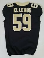 #59 Dannell Ellerbe of New Orleans Saints NFL Locker Room Game Issued Jersey