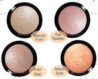 ELF Baked Highlighter- Moonlight Pearls/ Blush Gems/ Pink Diamonds/ Apricot Glow