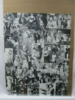 JUDY GARLAND ACTRESS VINTAGE POSTER  1970's COLLAGE CNG171