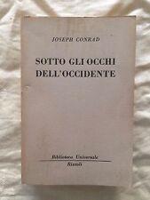 Sotto gli occhi dell'occidente - Joseph Conrad - Rizzoli 1955