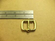 "1"" Solid Brass End Bar Roller Buckles (Pack Of 5)"