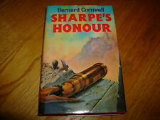 BERNARD CORNWELL-SHARPE'S HONOUR-SIGNED-1ST-HB-NF-1985-6TH BOOK-COLLINS-RARE