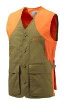 Beretta Mens Upland Ultralight Hunting Shooting Vest, Light Brown/Orange, XXL