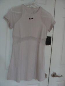 Women's Nike Court Maria Sharapova Tennis Dress Rose 887467 699 Size XS~XL
