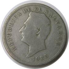 elf El Salvador 10 Centavos 1925 (S) San Francisco Mint
