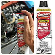 Gumout Carburetor Choke Cleaner Valves Metal Parts Carb Engine Clean 14 OZ Spray