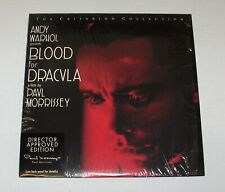 (Laserdisc) Blood For Dracula / Andy Warhol / Paul Morrissey / Criterion