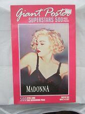 Vintage MADONNA Giant Poster 500 Piece Puzzle - Sealed